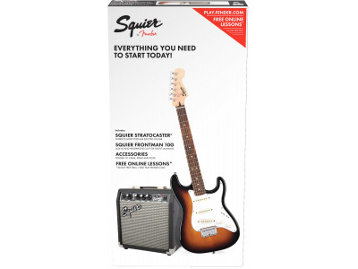 Squier By Fender STRAT® SS PACK (SHORT-SCALE)