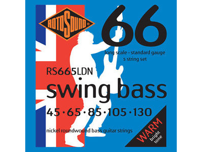 Rotosound RS 665 LDN BASS NICKEL 045-105-130