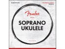 Fender PRIBOR Soprano Ukulele Strings, Set of Four