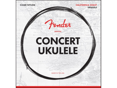 Fender PRIBOR Concert Ukulele Strings, Set of Four