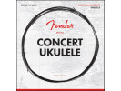 Fender PRIBOR Concert Ukulele Strings, Set of Four