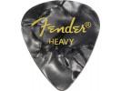 Fender PRIBOR Black Moto, 351 Shape, Heavy