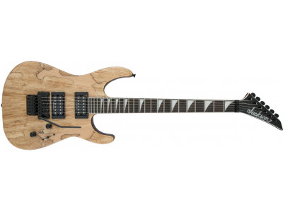 Jackson X SERIES SOLOIST™ SLX SPALTED MAPLE, DARK WALNUT FINGERBOARD, NATURAL