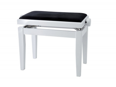 Gewa PIANO BENCH WHITE MATT COVER BLACK