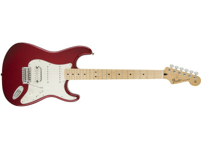 Fender Standard Stratocaster HSS. Maple Fretboard. Candy Apple Red