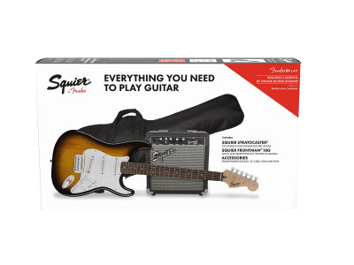 Squier By Fender Stratocaster® Pack LRL BSB