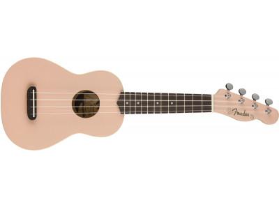 Fender Venice Soprano Uke, Shell Pink