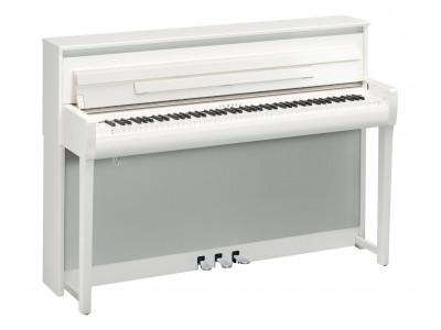 Yamaha CLP-685 polished white