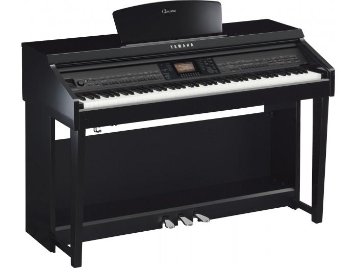 yamaha cvp 701 polished ebony. Black Bedroom Furniture Sets. Home Design Ideas