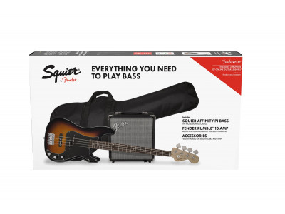 Squier By Fender Affinity Precision Bass BSB GB R15