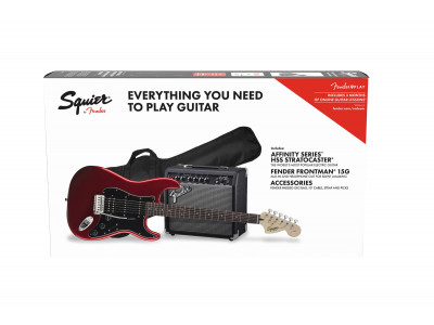 Squier By Fender Affinity Series™ Strat HSS CAR BSB GB