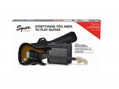 Squier By Fender Affinity Series™ Strat HSS BSB GB