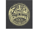 Fender Cali Medallion Men's Tee, Gray, L