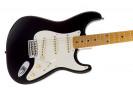 Fender Eric Johnson Stratocaster Maple Fretboard. Black električna gitara električna gitara