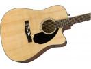 Fender CD-60SCE WN NAT akustična gitara akustična gitara