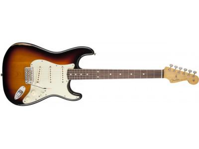 ONLINE rasprodaja - Fender Road Worn 60's Stratocaster RW 3TS