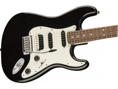 Squier By Fender Contemporary Stratocaster® HSS RW BLK MET