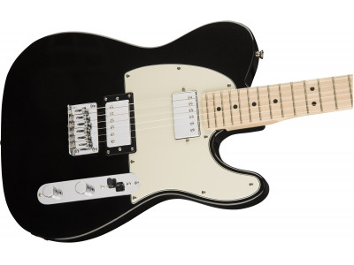 Squier By Fender Contemporary Telecaster® HH MN BLK MET
