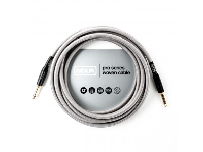 MXR DCIW12 INSTR CABLE WOVEN SILVER