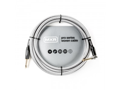 MXR DCIW12R INSTR CABLE WOVEN SILVER