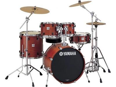 ON-LINE RASPRODAJA - bubnjevi YAMAHA SCN0F5 MAT CRANBERY RED