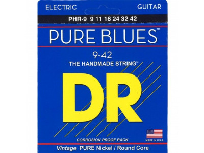 DR Handmade Strings Pure Blues PHR 9