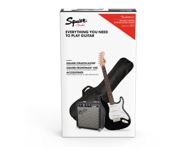 Squier By Fender Stratocaster® Pack BLK GB 10G 230V EU
