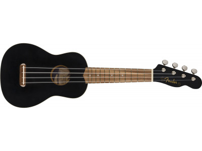 Fender Venice Soprano Uke WN BK