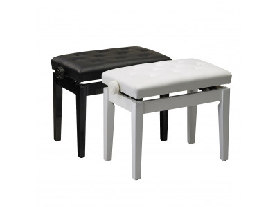 William Wagner PIANO BENCH LIFT TYPE BLACK