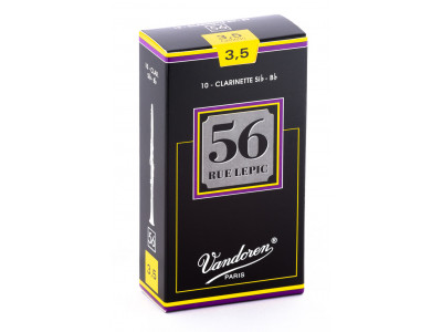 Vandoren 56 Rue Lepic Bb Clarinet Reeds CR5035