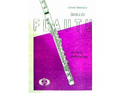 Literatura Lj. Dimitrijević - Škola za flautu, sveska 4