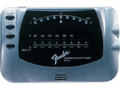 RASPRODAJA - pedale, procesori, efekti FENDER AX12 CHROMATIC TUNER, SILVER