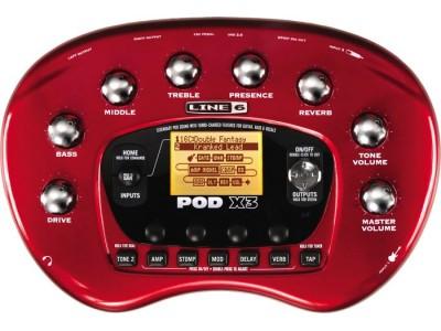 RASPRODAJA - pedale, procesori, efekti LINE6 POD X3