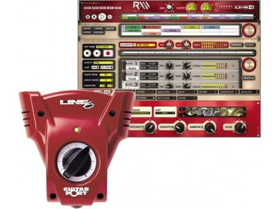 Line 6 GuitarPort Riff Tracker