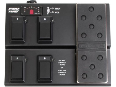 Line 6 FBV Express MK II  -  4-way foot controller USB for Vetta/HD147/XT Series /Flextone III/Spider II/III X3 Series