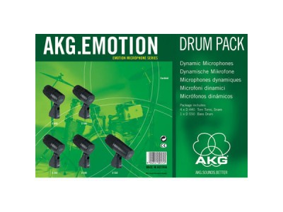 AKG Emotion Drum Pack **