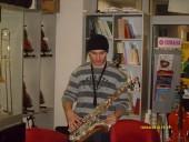 Dodela saksofona mladom stipendisti Berklija Dušanu Vukmiroviću