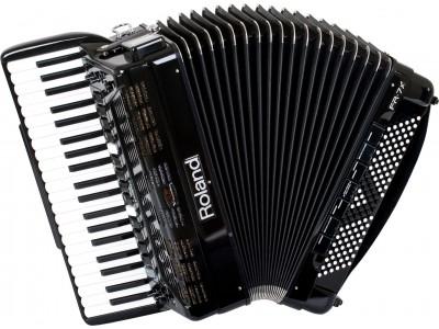 Roland FR-7X BK V-Harmonika USB-om- crna