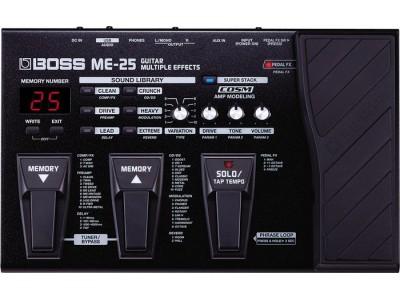 Boss ME-25 Guitar Multiple Effects