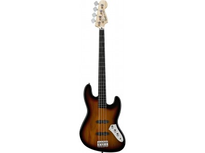 Squier By Fender Vintage Modified Jazz Bass Fretless. Ebonol Fretboard. 3-Color Sunburst