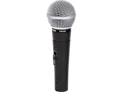 Shure SM58S Cardioid Dynamic. On-Off Switch