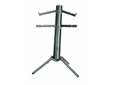 K&M Stands 18860 KEYBOARD STAND SPIDER PRO black anodized