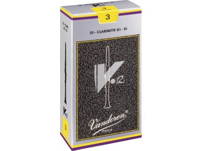 Vandoren V-12 Advanced Bb Clarinet Reeds n 3 CR193