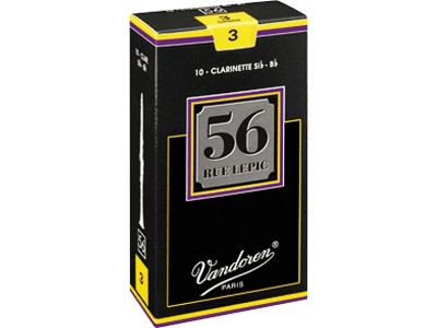 Vandoren 56 Rue Lepic Bb Clarinet Reeds CR503