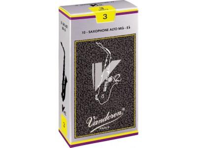 Vandoren V12 Alto Saxophone Reeds - Strength 3.5 SR6135