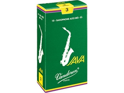 Vandoren Java Alto Saxophone Reeds - Strength 2.5 SR2625