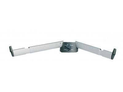 K&M Stands 18866 SUPPORT ARM SET B anodized aluminum