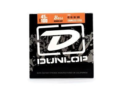 Jim Dunlop DBS45100 BASS-SS MEDLT 4/Set