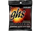 GHS Strings GBM - strings for Electric Guitar Boomers Roundwound Medium. .011 - .050