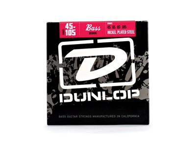 Jim Dunlop DBN45105 BASS-NKL MED 4/Set